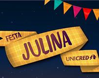 Festa Julina - UNICRED