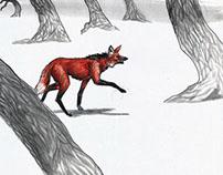 Lobo Guará . fragmento narrativo do livro Fim Do Dia.
