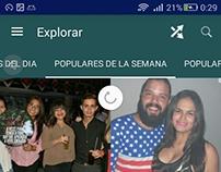 App para compartir fotos