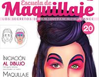 Escuela de Maquillaje N20 | Texto e ilustración