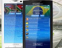 Football Fan - Sony Ericsson Xperia X10