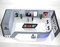 Diseño de stand 3d.