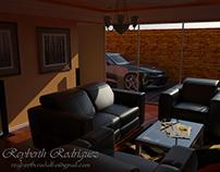 Practica de Sala (Diseño de Interiores).