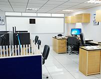 Diseño y Visualización de oficina