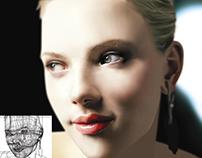 Scarlet Johansson Portrait