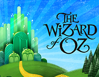 Book Cover Design - The wizard of Oz