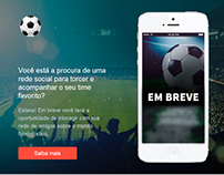 Social Ball landing page
