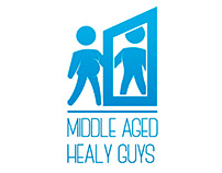 Middle Aged Healy Guys Logo