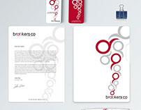 Diseño de Identidad Corporativa BrookersCo