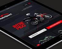 Diseño y desarrollo web para Motosport