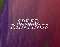 Speed Painting Portfolio