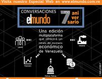 Aniversario del Diario El Mundo