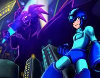 Megaman fanarts