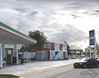 "Gasolinera ""Del Valle"""