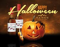 Gráfica Halloween - KAIKEN WINES