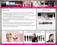 Responsive website for an Avon recruiting team