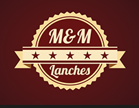Progeto de Logo - M&M Lanches
