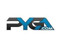 PYGA logo design proposal concept