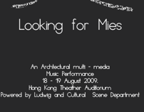 Redesign Cartaz Looking for Mies