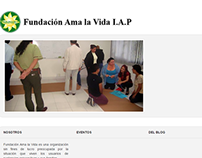 Fundación Ama la Vida I.A.P. Sitio Web