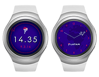 LATAM Watch face for Gear S2