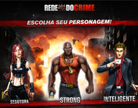 Rede Do Crime - Dirección de Arte - Social Games