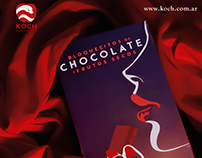 Poster Temptation Chocolates - Branding