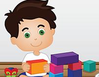 Illustrations for children's book -