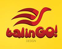 TalinGO! Design Logo