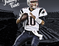 Jimmy's Time! - NE Patriots Fan Art