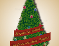 Christmas card for Cabrales