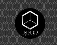 Logo e Papelaria Inner Arquitetura