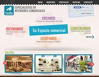 Diseño Pagina Web Todo Industrias