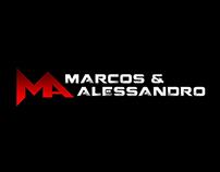 Logo Marcos e Alessandro