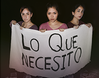 """Rediseño afiche de la obra de teatro """"Lo que necesito"""""""