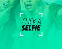 Click a Selfie - Branding