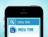 TIM || Animação | Aplicativo Meu Tim
