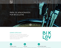 WEB SITE DESIGN - BIKLOV