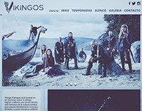 Web Design: Vikingos