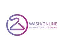 Diseño de Logo - Wash Online