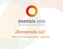 Expo Energía 2014 - Tema Energía 2050