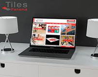 Página Web Tiles Panamá