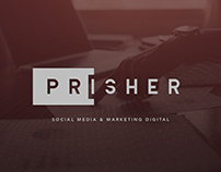 PRISHER - Logo - Branding