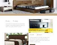 Web venta de muebles