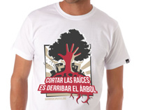 Graphic Design Project | BARRIOS DESPIERTOS T-SHIRT
