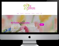 Diseño web para florerias