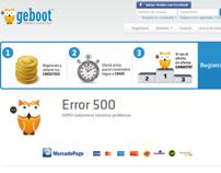 Geboot - YiiFramework - Error Page