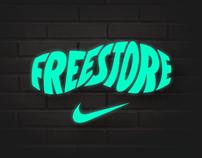 Nike Freestore graphics