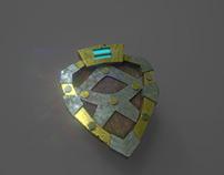 Shield Low Poly