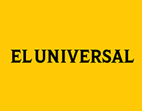 EL UNIVERSAL - Rediseño Web Site